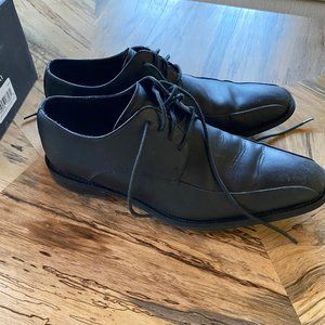 Kenneth Cole Black Leather Dress Shoes